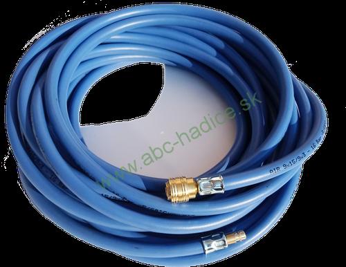 Kompresorová hadica s koncovkami - AIR BLUE