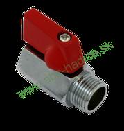 6-hranné guľové ventily s vnútorným a vonkajším závitom