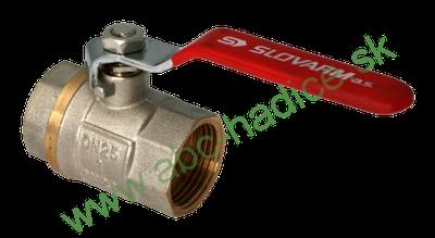 Guľový ventil pákový - 2 x vnútorný závit