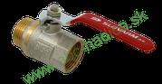 Guľový ventil pákový - vnútorný a vonkajší závit